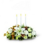 The FTD Season's Glow Centerpiece from Arthur Pfeil Smart Flowers in San Antonio, TX